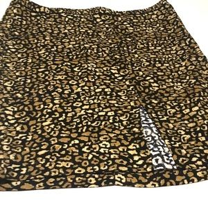 Who What Wear Skirts - Who What Wear | Leopard Skirt